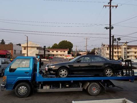1993 Toyota Dyna Towing Truck Diesel for sale at JDM Car & Motorcycle LLC in Seattle WA