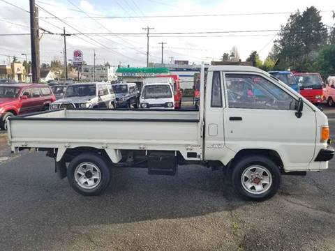 1990 Toyota Townace Diesel 4x4 for sale at JDM Car & Motorcycle LLC in Seattle WA