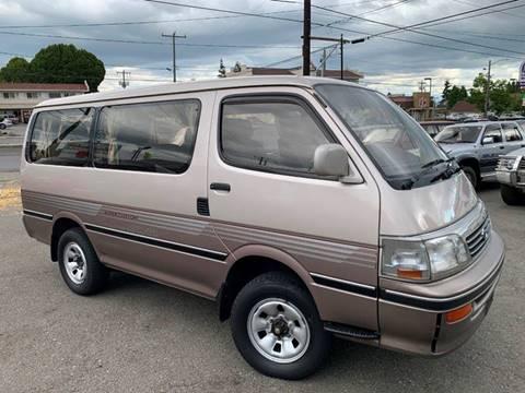 1994 Toyota Hiace T-Diesel MT5 4WD 1KZ-TE for sale at JDM Car & Motorcycle LLC in Seattle WA