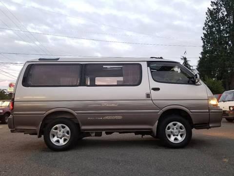 1994 Toyota Hiace W LTD 4x4 T-Diesel for sale at JDM Car & Motorcycle LLC in Seattle WA