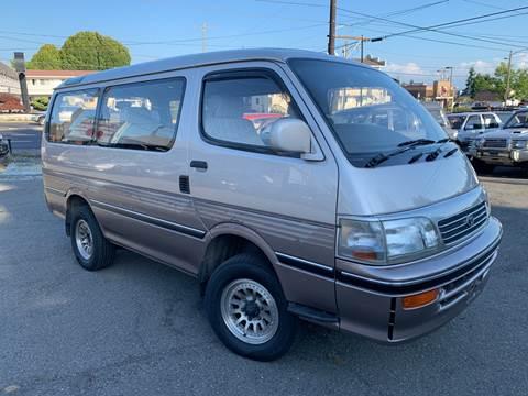 1994 Toyota Hiace W 4x4 LSD Turbo D for sale at JDM Car & Motorcycle LLC in Seattle WA