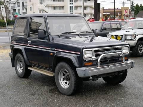 1990 Daihatsu Rugger for sale at JDM Car & Motorcycle LLC in Seattle WA