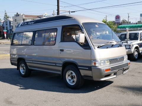 1991 Nissan Caravan for sale at JDM Car & Motorcycle LLC in Seattle WA