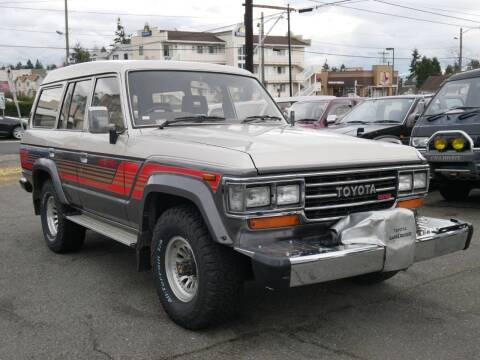 1988 Toyota Land Cruiser 61 for sale at JDM Car & Motorcycle LLC in Seattle WA