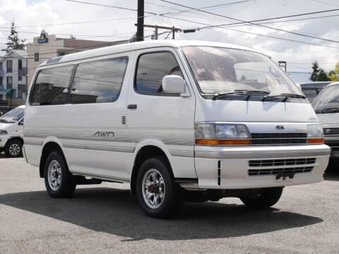 1992 Toyota Hiace Super Custom LTD for sale at JDM Car & Motorcycle LLC in Seattle WA