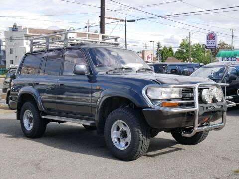 1991 Toyota Landcruiser 80 LTD  Diesel 4x4 for sale at JDM Car & Motorcycle LLC in Seattle WA