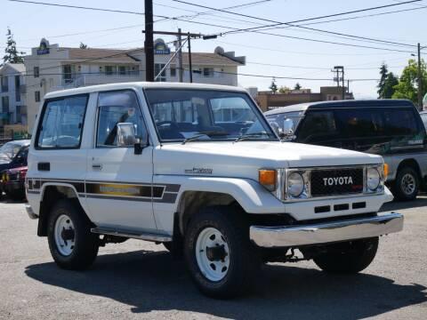 1989 Toyota Land Cruiser for sale at JDM Car & Motorcycle LLC in Seattle WA