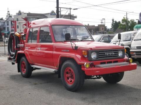 1994 Toyota Land Cruiser 70 1HZ DIESEL for sale at JDM Car & Motorcycle LLC in Seattle WA