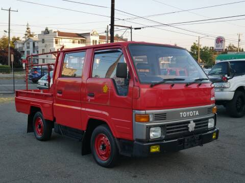 1990 Toyota Hiace for sale at JDM Car & Motorcycle LLC in Seattle WA
