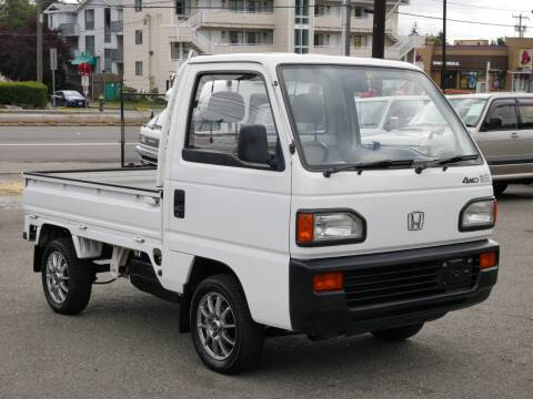 1991 Honda Acty MT5 4WD for sale at JDM Car & Motorcycle LLC in Seattle WA
