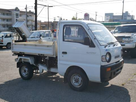 1992 Suzuki Carry Dump Truck 4x4 for sale at JDM Car & Motorcycle LLC in Seattle WA