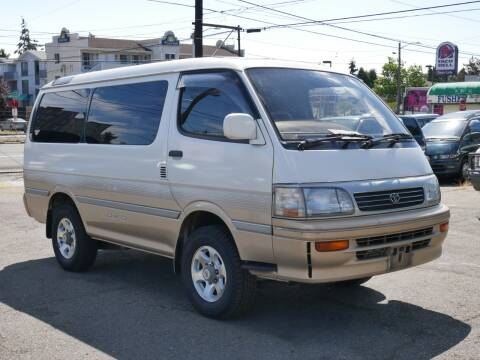 1995 Toyota Hiace SC Limited AWD Diesel for sale at JDM Car & Motorcycle LLC in Seattle WA
