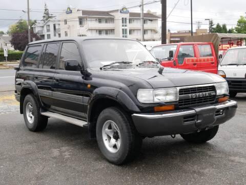 1991 Toyota Land Cruiser for sale at JDM Car & Motorcycle LLC in Seattle WA
