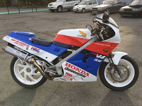 1987 Honda VFR400R for sale at JDM Car & Motorcycle LLC in Seattle WA