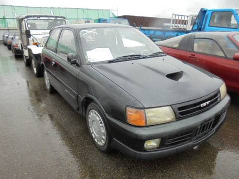 1990 Toyota Starlet GT for sale at JDM Car & Motorcycle LLC in Seattle WA