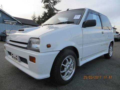 1989 Daihatsu Mira turbo for sale at JDM Car & Motorcycle LLC in Seattle WA