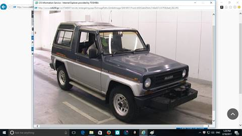 1984 Daihatsu Rugger for sale in Seattle, WA