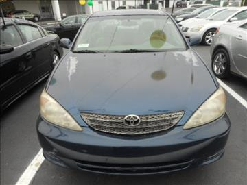 2002 Toyota Camry for sale in West Columbia, SC