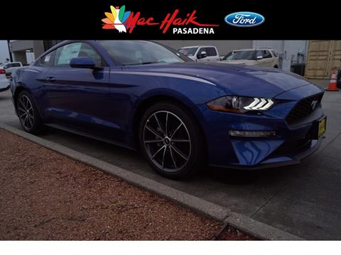 2018 Ford Mustang for sale in Pasadena, TX
