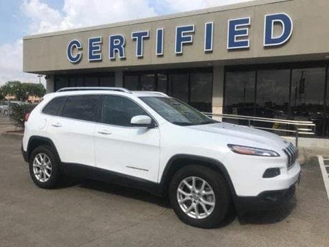 2015 Jeep Cherokee for sale in Pasadena, TX