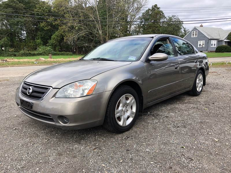 2003 Nissan Altima For Sale At Fox Motors LLC In Mine Hill NJ