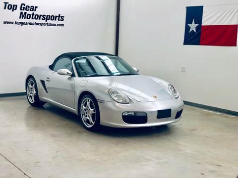2006 Porsche Boxster for sale in Houston, TX