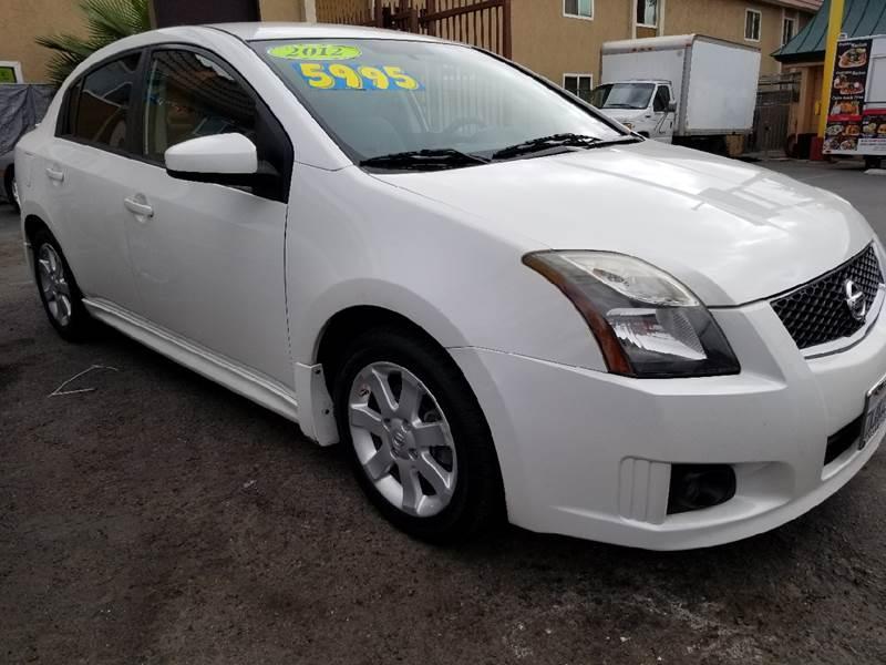 2012 Nissan Sentra For Sale At San Ysidro Auto Sales In San Ysidro CA