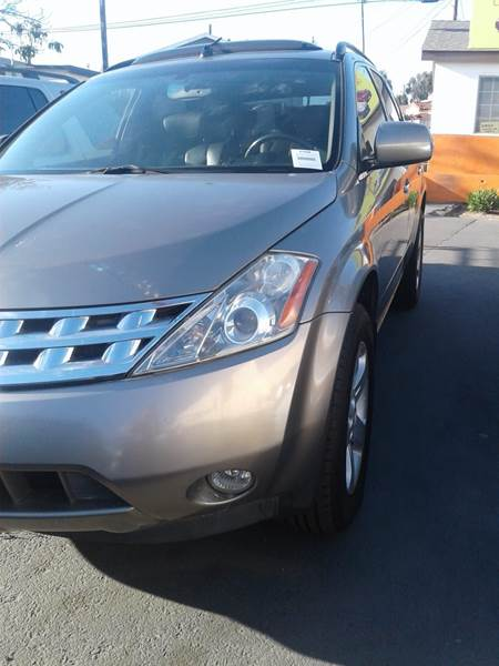 2003 Nissan Murano For Sale At San Ysidro Auto Sales In San Ysidro CA