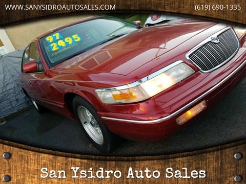 1997 Mercury Grand Marquis for sale in San Ysidro, CA