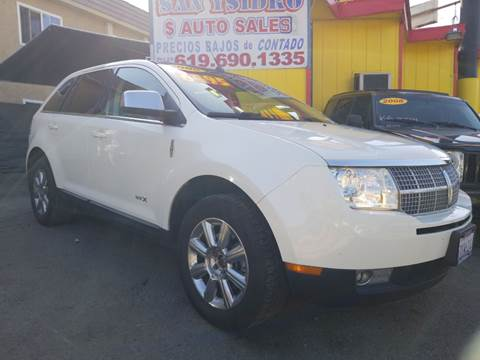 2008 Lincoln MKX for sale in San Ysidro, CA