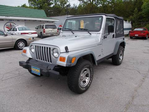 2002 Jeep Wrangler for sale in Jefferson City, MO