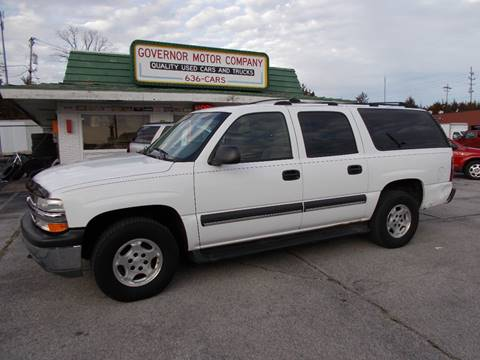 2004 Chevrolet Suburban 1500 LS for sale at Governor Motor Co in Jefferson City MO