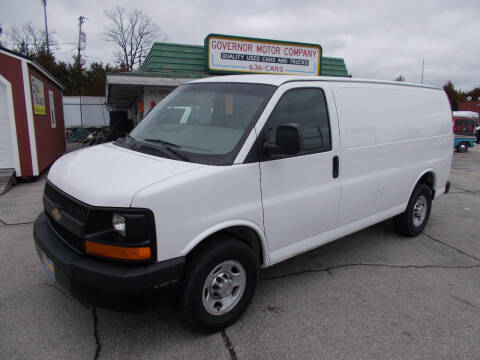 2012 Chevrolet Express Cargo 2500 for sale at Governor Motor Co in Jefferson City MO