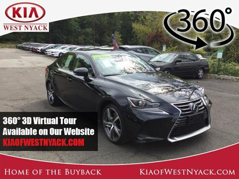 2017 Lexus IS 300 for sale in West Nyack, NY