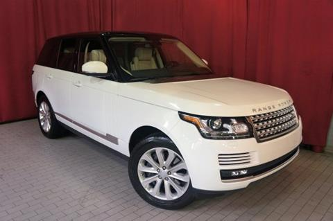 2015 Land Rover Range Rover for sale in West Nyack, NY