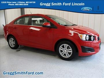2012 Chevrolet Sonic for sale in Clinton, MO