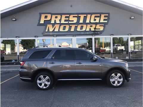 2015 Dodge Durango For Sale >> Dodge Durango For Sale In Pasco Wa Prestige Motors Inc