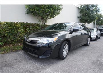 2014 Toyota Camry for sale in Fort Lauderdale, FL