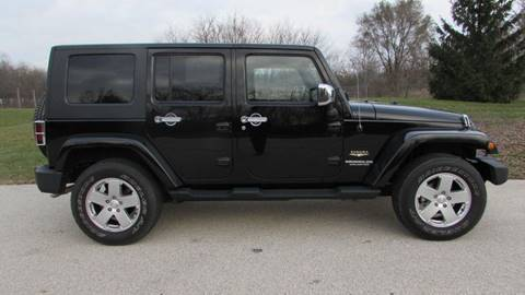 2010 Jeep Wrangler Unlimited for sale in Big Bend, WI