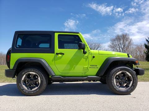 2012 Jeep Wrangler for sale in Big Bend, WI