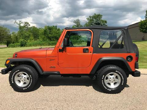 2002 Jeep Wrangler for sale in Big Bend, WI