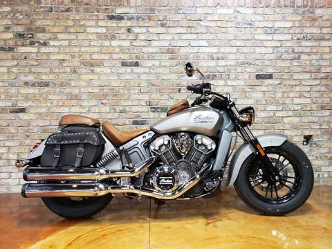 2015 Indian Scout Silver Smoke for sale in Big Bend, WI