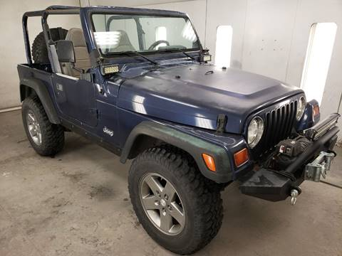 1997 Jeep Wrangler for sale in Big Bend, WI