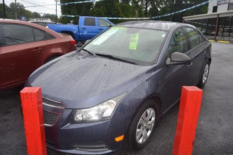 2013 Chevrolet Cruze for sale in Mableton, GA