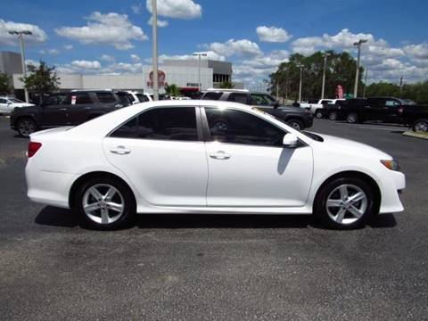 2014 Toyota Camry for sale at SAMPEDRO MOTORS COMPANY INC in Orlando FL