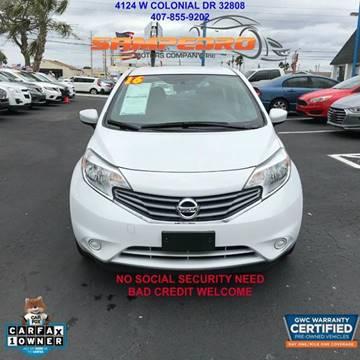 2016 Nissan Versa Note for sale at SAMPEDRO MOTORS COMPANY INC in Orlando FL