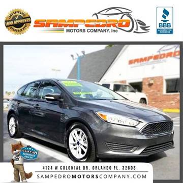 2017 Ford Focus for sale at SAMPEDRO MOTORS COMPANY INC in Orlando FL