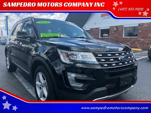 2016 Ford Explorer for sale at SAMPEDRO MOTORS COMPANY INC in Orlando FL