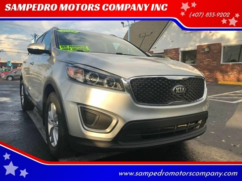 2017 Kia Sorento for sale at SAMPEDRO MOTORS COMPANY INC in Orlando FL