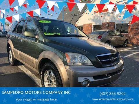 2005 Kia Sorento for sale at SAMPEDRO MOTORS COMPANY INC in Orlando FL